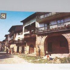 Postales: ANTIGUA POSTAL Nº 14 DE SANTILLANA DEL MAR - CANTABRIA - CALLE TIPICA - ED. DOMINGUEZ AÑOS 60. Lote 122182383