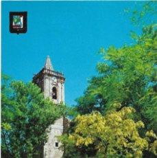 Postales: NOJA Nº 13 IGLESIA DE NOJA .- ESCUDO DE ORO / DOMINGUEZ .- SIN CIRCULAR . Lote 122221275