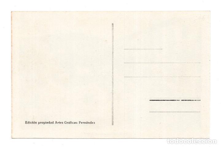 Postales: TORRELAVEGA.- PLAZA MAYOR. AUTOBUS DE LINEA. EDICIÓN GRÁFICAS FERNÁNDEZ. - Foto 2 - 122227811