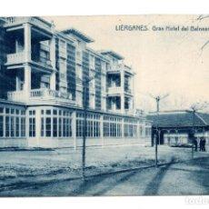 Postales: LIÉRGANES (CANTABRIA) .- GRAN HOTEL DEL BALNEARIO.. Lote 122228583