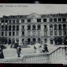 Postales: SANTANDER, SARDINERO,EL GRAN HOTEL, CASA FUERTES, SIN CIRCULAR. Lote 123032855