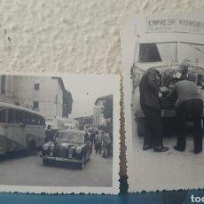 Postales: CANTABRIA, REINOSA, POLIENTES, DOS FOTOS AÑOS 50,ORIGINALES. Lote 123534232