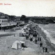 Postales: POSTAL DE SANTANDER-SARDINERO MUY BONITA AÑOS 1910-20 RARA Y CURIOSA.. Lote 124562487