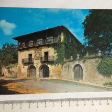 Postales: POSTAL. SANTILLANA DEL MAR. CANTABRIA. CASA DE LOS TAGLE. ED. ALARDE. H. 1960?. Lote 124564848