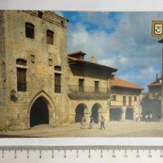 Postales: POSTAL. SANTILLANA DEL MAR. CANTABRIA. TORRE DE LOS BORJA. L. DOMÍNGUEZ. H. 1960!?. Lote 124565363