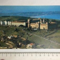 Postales: POSTAL. COMILLAS. SANTANDER. UNIVERSIDAD PONTIFICIA. ESCUDO DE ORO. H. 1960?. Lote 124570531