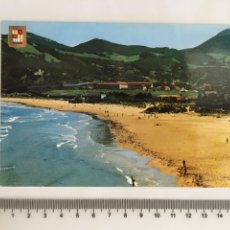 Postales: POSTAL. SANTOÑA. CANTABRIA. PLAYA DE BERRIA. DOMÍNGUEZ. H. 1960?. Lote 124594054