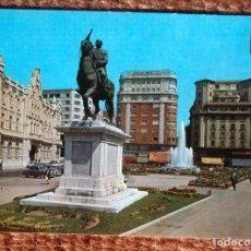 Postales: SANTANDER - PLAZA DEL GENERALISICMO. Lote 125269479
