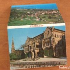 Postales: LIBRILLO ACORDEÓN, !0 POSTALES DE COMILLAS. CANTABRIA. Lote 125428751