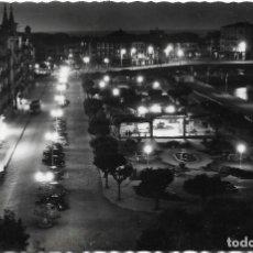 Postales: CASTRO URDIALES Nº 19 VISTA NOCTURNA DEL PARQUE .- EDICIONES ARRIBAS . Lote 126246711
