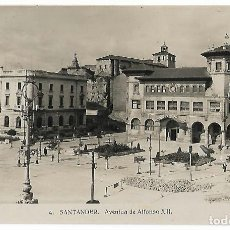 Postales: SANTANDER. AVENIDA DE ALFONSO XIII. Nº4.. Lote 126331051