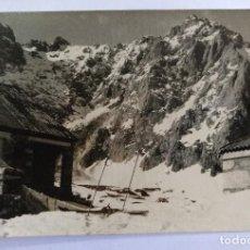 Cartes Postales: POTES SANTANDER PICOS DE EUROPA REGION DE LLEBANA REFUGIO FOTO E. BUSTAMANTE. Lote 126457311