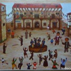 Postales: CASTILLA - HERMIDA - SANTANDER - FIESTA DE SAN ROQUE - DIBUJO DE PURI SANCHEZ. Lote 126470707