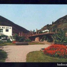 Postales: POSTAL DE CALDAS DE BESAYA: PUENTE (FOTO BUSTAMANTE 39). Lote 128293315