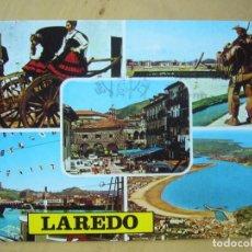 Postales: LAREDO (CANTABRIA) - DIVERSOS ASPECTOS (ESCRITA Y CIRCULADA) . Lote 128314771