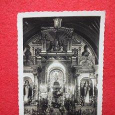 Postales: TARJETA MONTESCLAROS CANTABRIA Nº 48 IGLESIA DEL SANTUARIO EL LAPÍZ DE ORO. Lote 128343095