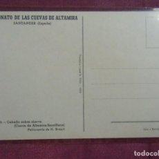 Postales: SANTANDER.PATRONATO CUEVAS DE ALTAMIRA, T.P. S/C. 1959. Nº 5.. Lote 128375639