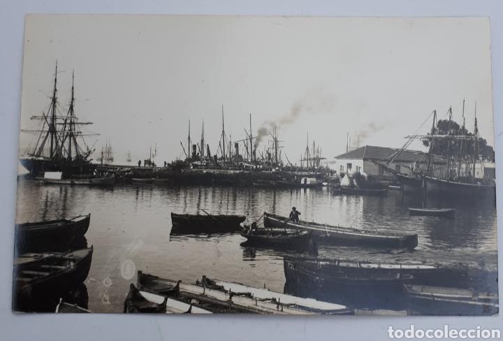 SANTANDER. LA ANTIGUA DARSENA. 1886 (Postales - España - Cantabria Antigua (hasta 1.939))