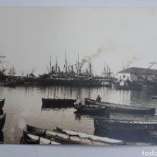 Postales: SANTANDER. LA ANTIGUA DARSENA. 1886. Lote 129026487