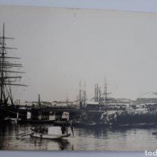 Postales: SANTANDER. MALIAÑO Y LA ENTRADA A LA DÁRSENA. 1886. Lote 129028415