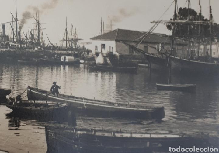 Postales: Santander. La Antigua Darsena. 1886 - Foto 2 - 129026487