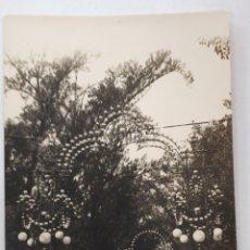 Postales: SANTANDER. FERIAS EN LA ALAMEDA SEGUNDA. 1886. Lote 129227740