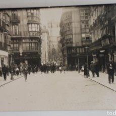 Postales: SANTANDER. LA PLAZA VIEJA Y LA CALLE DEL PUENTE. 1896. Lote 129230279