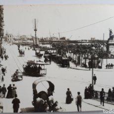 Postales: SANTANDER. RIBERA Y PLAZA DE VELARDE. 1884. Lote 129255160