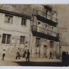 Postales: SANTANDER. EL ANTIGUO PALACIO DEL OBISPO Y ADMINISTRACIÓN DE LOTERIAS Y POSTERIOR CINE LISARDA. 1905. Lote 129514182