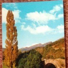 Postales: REINOSA - PUENTE ROMANO. Lote 130301746