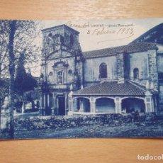 Postales: CANTABRIA-V12B-SXX-LIMPIAS-IGLESIA PARROQUIAL. Lote 130305886