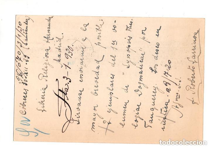 Postales: COBRECES. CANTABRIA.- MONASTERIO CISTERCIENSE VIA COELY Y FABRICA QUIROS LIT. RIO LUARCA - Foto 2 - 132035350