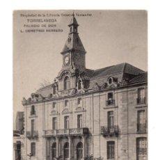 Postales: TORRELAVEGA. (CANTABRIA).- PALACIO DE DON L. DEMETRIO HERRERO. HAUSER Y MENET. Lote 132035510