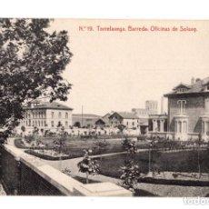 Postales: TORRELAVEGA. (CANTABRIA).- Nº 19. BARREDA.OFICINAS DE SOLVAY. THOMAS, BARCELONA.. Lote 132035714