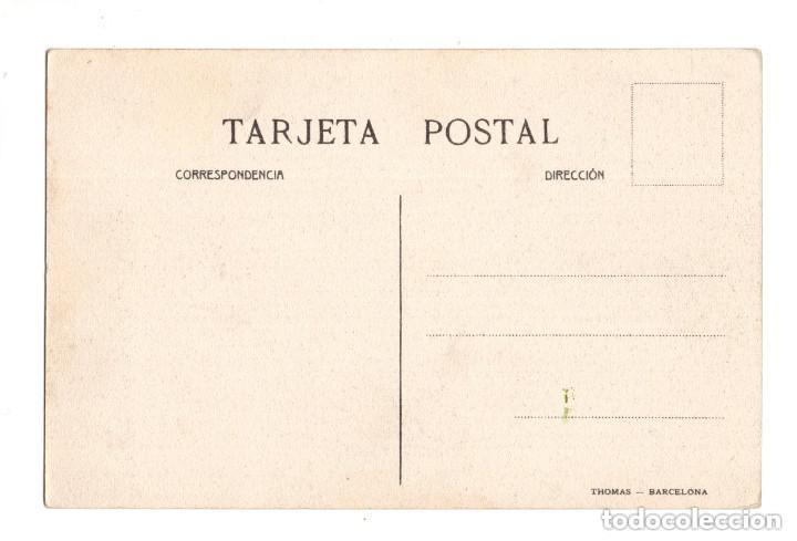 Postales: TORRELAVEGA. (CANTABRIA).- Nº 19. BARREDA.OFICINAS DE SOLVAY. THOMAS, BARCELONA. - Foto 2 - 132035714
