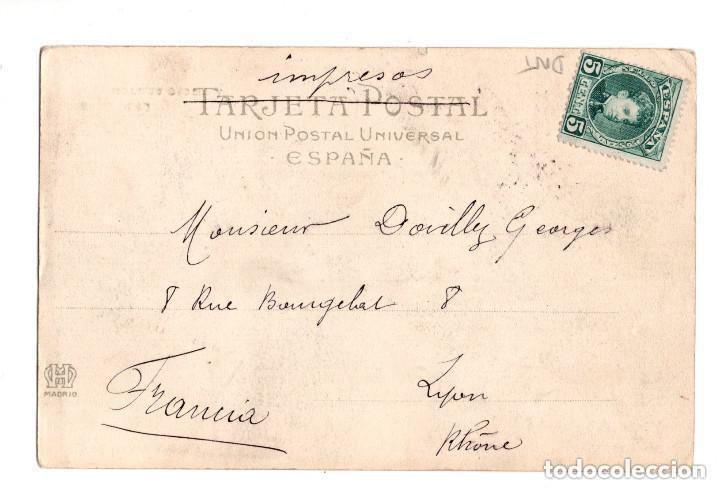 Postales: SANTANDER (CANTABRIA).- SARDINERO, HOTELES CASTILLA, II SERIE NUM.4, PROPIEDAD DE R. PACHECO - Foto 2 - 132037838