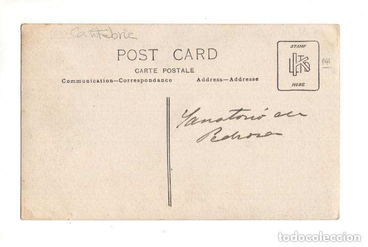 Postales: Santander (Cantabria) Postal fotográfica. Sanatorio de la Isla de Pedrosa. - Foto 2 - 132038222