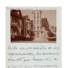 Postales: SANTANDER.- CANTABRIA - PALACIO DE MAGDALENA FOTOGRAFICA. Lote 132038322