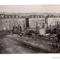 Postales: SANTANDER.- MUELLE DE ANAOS 1873. DARSENA FRENTE ADUANA. Lote 132038758