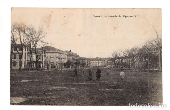 LAREDO. ( CANTABRIA). - AVENIDA DE ALFONSO XII (Postales - España - Cantabria Antigua (hasta 1.939))