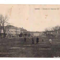 Postales: LAREDO. ( CANTABRIA). - AVENIDA DE ALFONSO XII. Lote 132240038