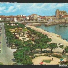 Postales: CASTRO URDIALES - PARQUE DE AMESTOY Y PUERTO - P30000 . Lote 132283318
