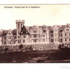 Postales: SANTANDER PALACIO REAL DE LA MAGDALENA. EDICIÓN VILCHES. Lote 132400442