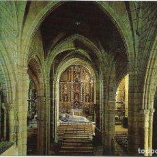 Postales: == D964 - POSTAL - SAN VICENTE DE LA BARQUERA - IGLESIA DE SANTA MARIA . Lote 132693014