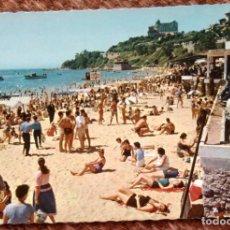 Postales: SANTANDER - PLAYA DE LA MAGDALENA. Lote 132816314