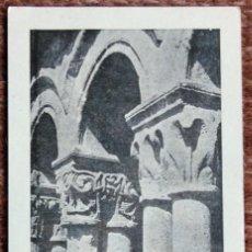 Postales: SANTILLANA DEL MAR - CLAUSTRO DE LA COLEGIATA. Lote 133378602