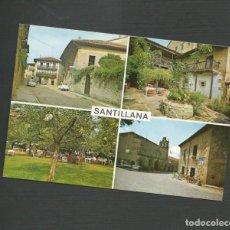 Postales: POSTAL SIN CIRCULAR - SANTILLANA DEL MAR 175 - SANTANDER - EDITA BUSTAMANTE. Lote 133493286