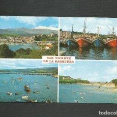 Postales: POSTAL SIN CIRCULAR - SAN VICENTE DE LA BARQUERA 389 - SANTANDER - EDITA BUSTAMANTE. Lote 133797770