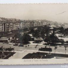 Postales: 62 SANTANDER. JARDINES Y PASEO DE PEREDA. Lote 133799351