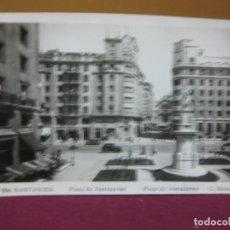 Postales: POSTAL 206 SANTANDER. PLAZA DE ATARAZANAS. L. ROISIN FOTOGRAFO.. Lote 133799978